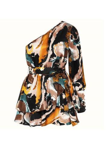 Image de Naia Kleid mit Halbarm farbig